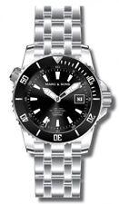 MARC & SONS Professional Automatik Taucheruhr, Diver Watch,Heliumventil, Keramik