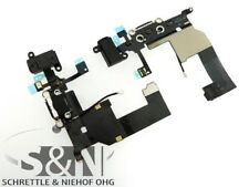 Original iPhone 5 Dock  Lade Konnector schwarz Kopf Hörer Buchse Kabel Stecker