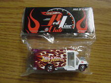 2012 Hot Wheels CA 26th Convention Redline Club PINK RLC Party Haul of Flame