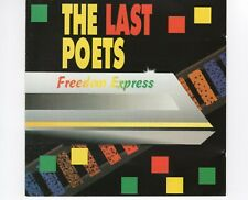 CD THE LAST POETS	freedom express	HOLLAND 1990 EX  (R1939)