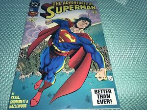 1993 31 THE ADVENTURES OF SUPERMAN #505 1993 DC Comics Fast Free Ship