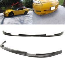 Fits Chevy Corvette C6 Base 06-13 ZR1 Style Front Bumper Lip Spoiler Splitter PU