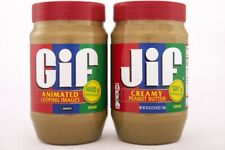 Jif X GIPHY Creamy Peanut Butter GIF Limited Edition Jar 40 oz Special