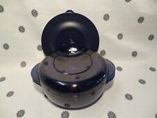 Tupperware Mini Microwave Stack Cooker 1L Blue New