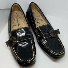 Kumfs 622727 black patent leather loafers 37W