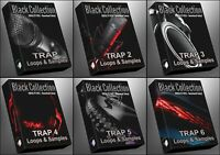 Trap 1-6 Epic Bundle Ultimate Black Collection  All Trap Packs WAV Samples Loops