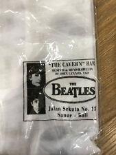 Beatles 'The Cavern Bar' Museum - NOS - BNIB - White XL - s/sleeves - Bali
