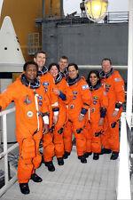NASA STS-107 SPACE SHUTTLE COLUMBIA CREW 11x14 SILVER HALIDE PHOTO PRINT