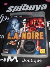 PS3 Game L.A. Noire used