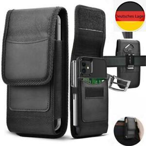 Handy Holster Gürtelclip Tasche Robuster Kartenhalter Nylon Brieftasche Hülle