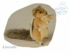 Sitting Siberian Chipmunk  Plush Soft Toy by Hansa  4832