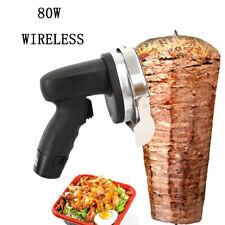 Elektrisches Grill Schneidemesser für Döner und Gyros, Kabelloses Kebabmesser