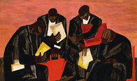 The Businessmen : Jacob Lawrence : c1940s : Archival Quality Art Print