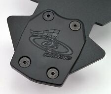 DE Racing XD Rear Skid Plates Losi TLR TEN-SCTE / TEN-T / 810 / ( DER-310-L )