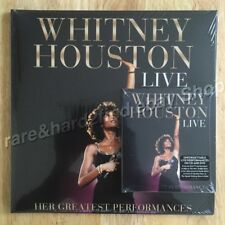 Whitney Houston LIVE 2014 Limited Purple Vinyl 2LP + Deluxe CD & DVD All SEALED