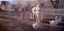 Robert Duncan, THE PONY CART, S/N Limited Edition Large Print