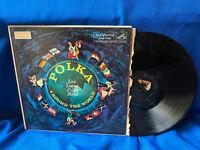 Lou Logist Polka Band LP Polka Around the World RCA Victor LPM-1750