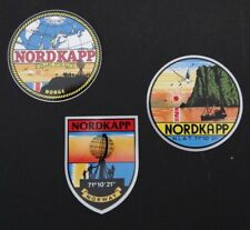 3er set sticker north cape nordkapp norway norge souvenir