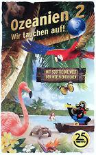"""Netto """"Ozeanien 2 Wir tauchen auf!"""" alle 90 Basis-Karten - KEINE Doppelten"""