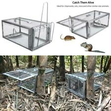 Live Humane Cage Trap Animal Catcher Squirrel Chipmunk Rat Mouse Rodent Small
