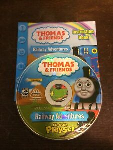 THOMAS & FRIENDS RAILWAY ADVENTURES CD-ROM PLAYSET  / INSTRUCTION BOOK