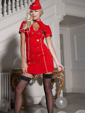 Ladies Ann Summers Air Hostess Mile High sexy Fancy Dress up size 10 Hen BNWT