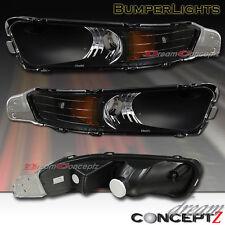 2005-2008 FORD MUSTANG BLACK BUMPER SIGNAL LIGHTS 06 07