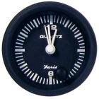 "Faria Euro Black 2"" Clock - Quartz (Analog) 12825"