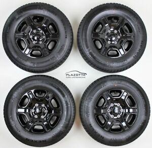 Ford Ranger 17 Pollici Inverno Ruote Black Edition 8x17 Et 55 265/65R17 112H