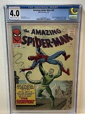 Amazing Spider-man #20 CGC 4.0 - 1st Appearance of Scorpion