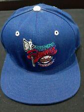 Richmond Braves DeLONG Flat Brim Snapback Hat NOS