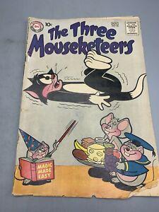The Three Mouseketeers No. 24 November 1960 DC National Comics