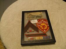 a WWII USMC grouping in case in great shape