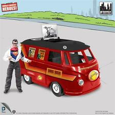 DC Comics Bus Playset for 8 Inch Retro mego Superman With Exclusive Clark Kent