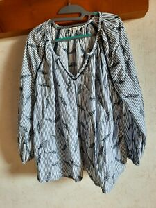 Chemisier blouse MS Mode taille 50
