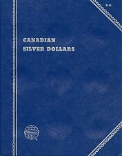 """Whitman Obsolete""""Canadian Silver Dollars"""" Plain-No Printing Coin Folder 9086 New"""