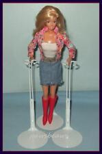 2 White Kaiser Doll Stands For Monster High Barbie Fashion Royalty Momoko