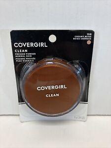 COVERGIRL CLEAN! Creamy beige pressed powder #150 New As Is