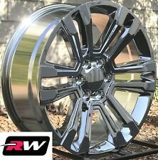 "22"" inch 22 x9"" Wheels for Chevy Avalanche Chrome GMC Denali Rims"