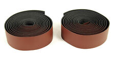 ROAD BIKE FAUX LEATHER HANDLEBAR TAPE BICYCLE BAR WRAP BROWN NEW
