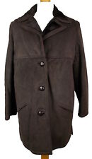 Unbranded Suede Hip Length Coats & Jackets for Women