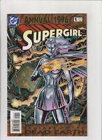 Supergirl Annual #1 VF+ 8.5 DC Comics 1996 Superman, Legends of Dead Earth