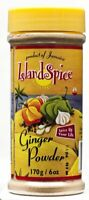 Island Spice Ginger Powder 6oz (Pack of 4)