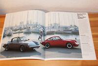 Prospekt Porsche Programm mit 924, 944, 911/Turbo, 928 S,  Juli 1982 ; 36 Seiten