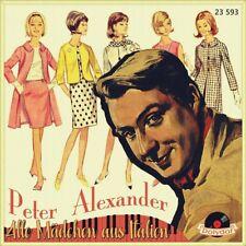 """7"""" PETER ALEXANDER Alle Mädchen aus Italien / Amsterdamer Meisjes POLYDOR 1958"""