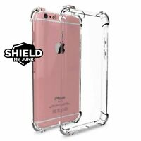 Case For Apple iPhone 7 7s 8 Plus ShockProof  Clear Soft Silicone Bumper Cover