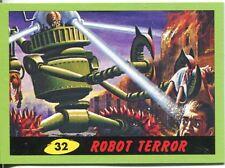 Mars Attacks Heritage Green Parallel Base Card #32    Robot Terror