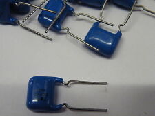 10x 0.047uF = 47nF 400v LCR Metalised Polyester British Made 400-473# EB08