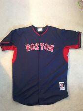 Authentic Team Issued Boston Red Sox Road Batting Practice Jersey size 52