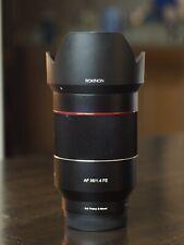 ROKINON IO3514-E AF 35mm F1.4 Lens for Sony E